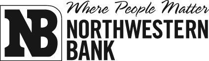 Northwestern bank logo - jpeg small 1.69 x .5